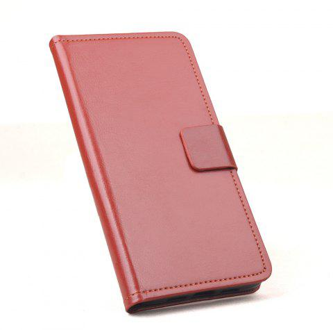 FLip Luxury Leather Case for Huawei Honor 9I Phone Wallet Leather MobiLe Phone Holster Case - BROWN