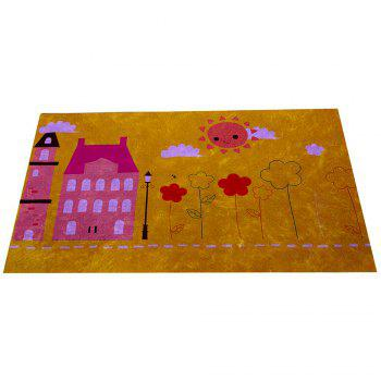Hand Painted Children's World Blanket Mats - COLORMIX COLORMIX
