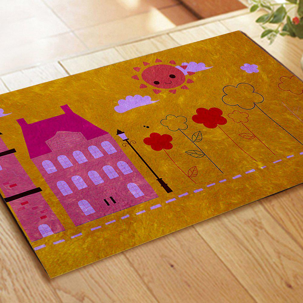 Hand Painted Children's World Blanket Mats - COLORMIX 40CM*60CM