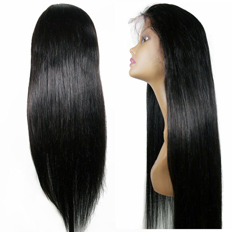 Long Straight Hair Synthetic Lace Front Wigs Natural Black Color Heat Resistant for Beauty Women 12 26inch silk straight wigs for black women heat resistant cheap long black glueless synthetic lace front wig with baby hair