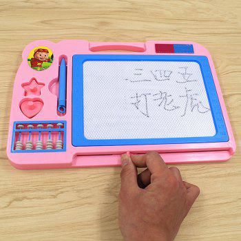 Magnetic Drawing Doodle Writing Board for Children Baby - PINK PINK