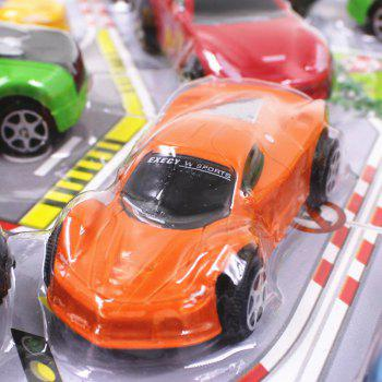 Simulation Car Toy Combination Package for Kids 12PCS - COLORMIX