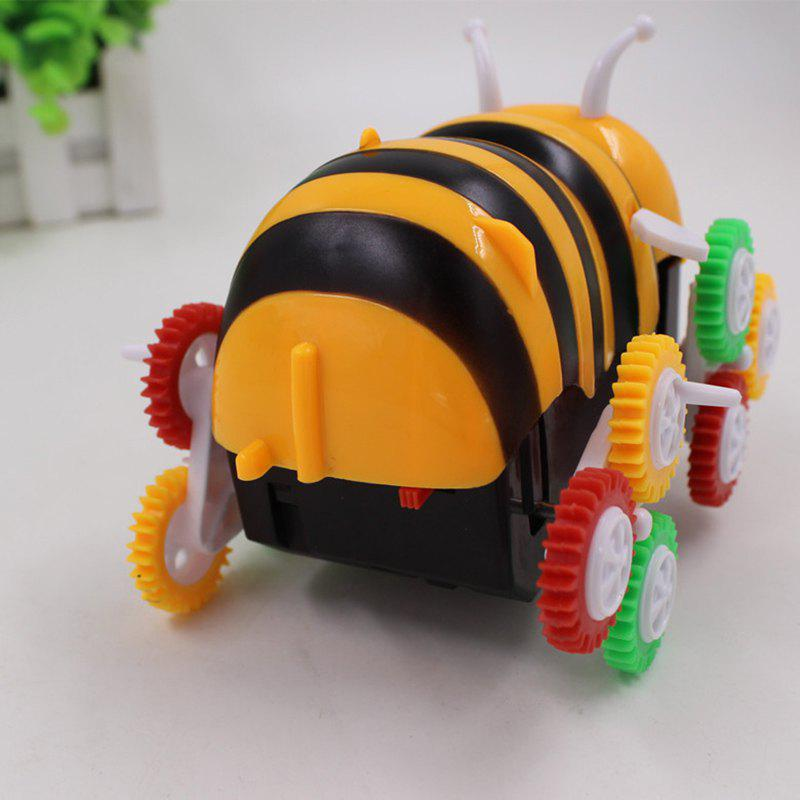 Bee Dumpers Electric DIY Toy Automatic Turning Children Toy Car - COLORMIX