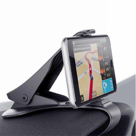 Universal Car Dashboard Mount Holder Stand HUD Design Cradle for Cell Phone GPS - BLACK