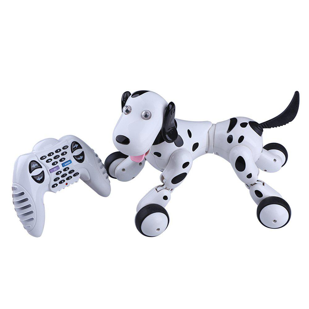Clever Interactive Robotic Dog - BLACK WHITE