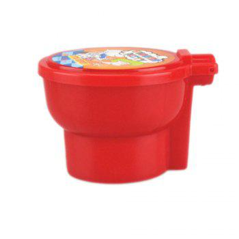 Non-toxic Polymer Noise Putty Surprise Squishy Jumping Clay Fart Toy - RED RED
