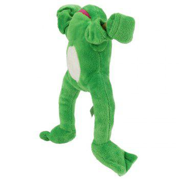 New Funny Paw Toys Lovely Novelty Flying Frog Screaming Slingshot Plush Kids Gift -  GREEN