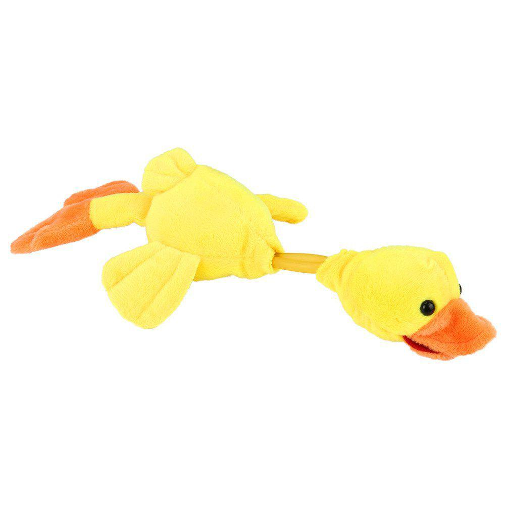 New Funny Paw Toys Lovely Novelty Flying Duck Screaming Slingshot Plush Kids Gift - YELLOW