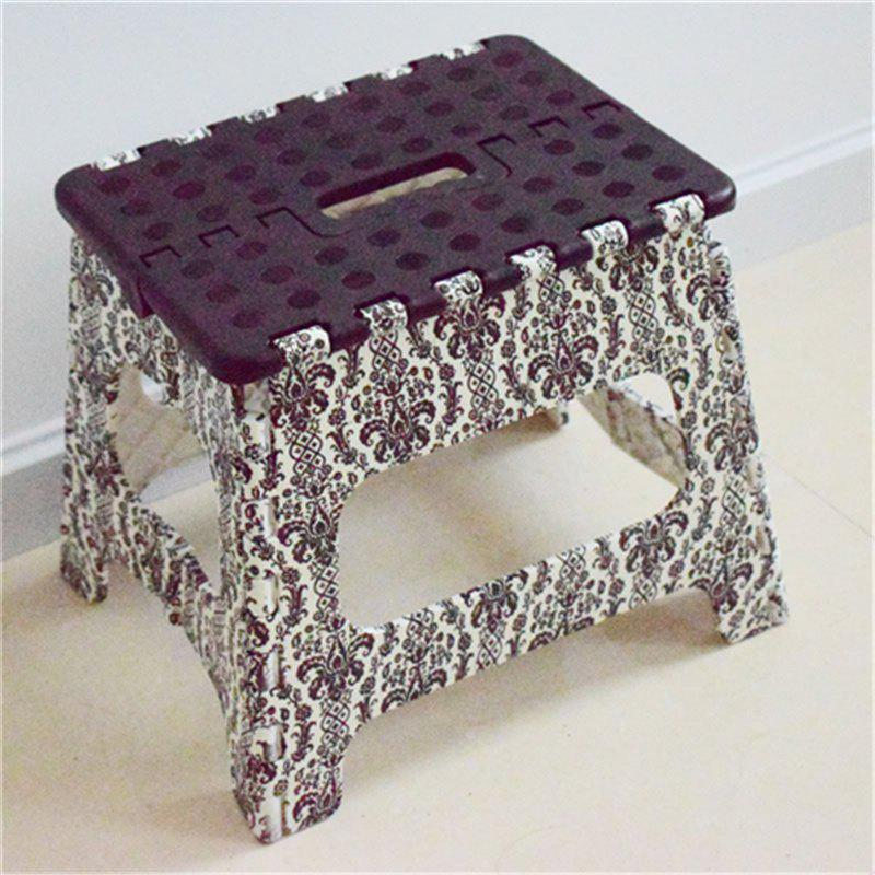 Non Slip Small Folding Step Stool For Adults Or Children Portable Stool - COLORMIX