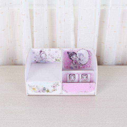 Lovely Cosmetics Collection Box - PINK
