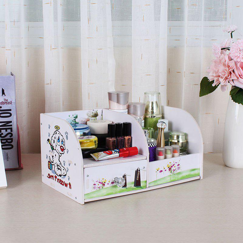Lovely Cosmetics Collection Box - GREEN