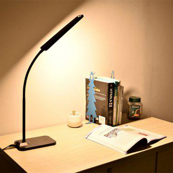 BRELONG  LED Table Lamp Dimming Study Reading Lamp USB Output Charging - BLACK