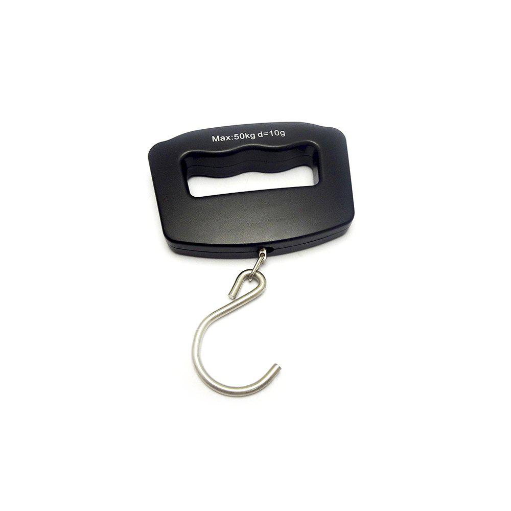 NS - 10 Portable Luggage Scales - BLACK
