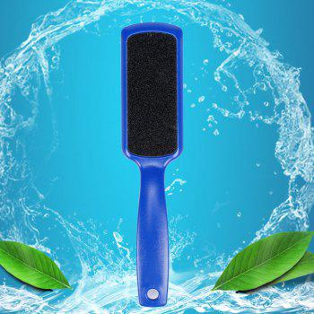 Double-sided Foot Care Sanding File Washboard Sandpaper Brush Dead Skin Callus Remover Pedicure Tool - CERULEAN CERULEAN