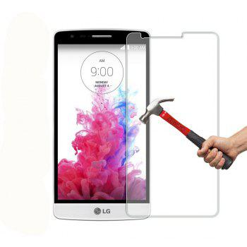 2PCS Screen Protector for LG G3 HD Full Coverage High Clear Premium Tempered Glass - TRANSPARENT