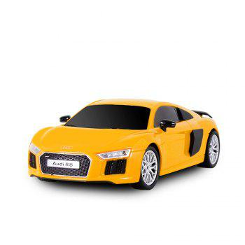 Attop 1815 1:24 Emulational Audi Remote Control Car - YELLOW YELLOW