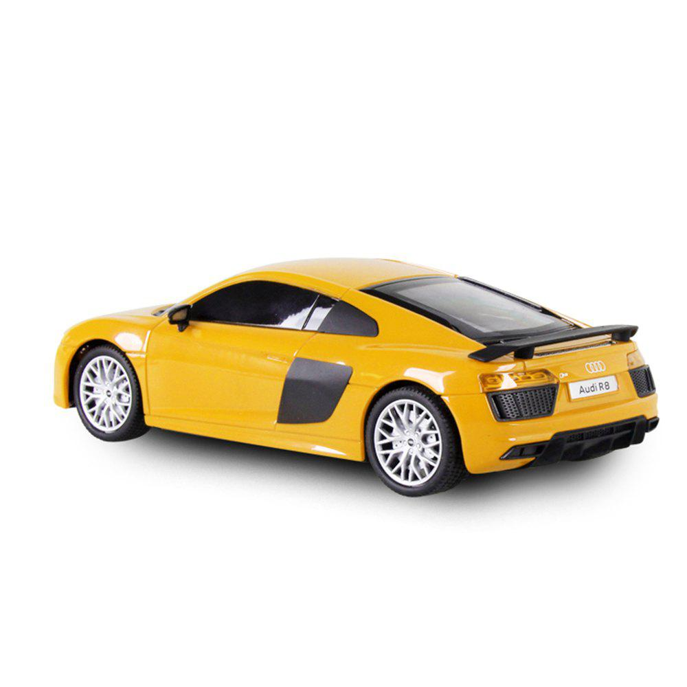 Attop 1815 1:24 Emulational Audi Remote Control Car - YELLOW