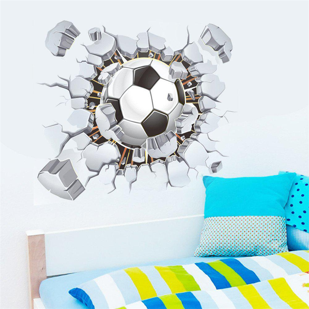 Football Club Wall Stickers 3D Decals For Home Decoration - COLORMIX