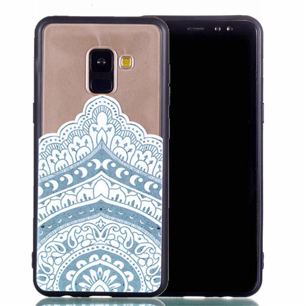 2018 for samsung a8 2018 relievo mandala soft clear tpu phone casing mobile smartphone cover. Black Bedroom Furniture Sets. Home Design Ideas