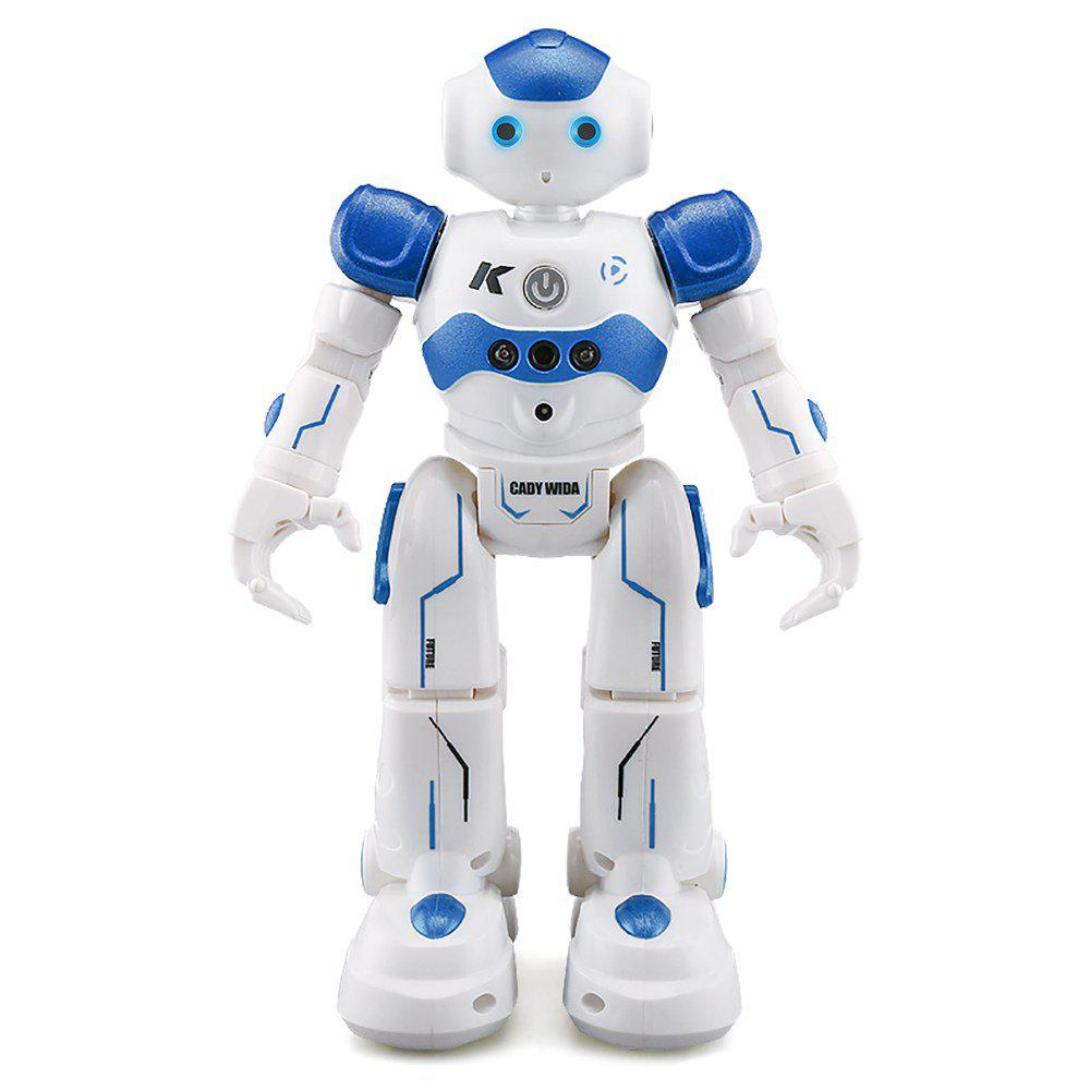 R2 RC Robot Toys IR Gesture Control Intelligent Robots Dancing Toy - BLUE