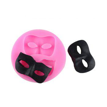 Halloween Mask Silicone Cake Fondant Chocolate Mold - PINK