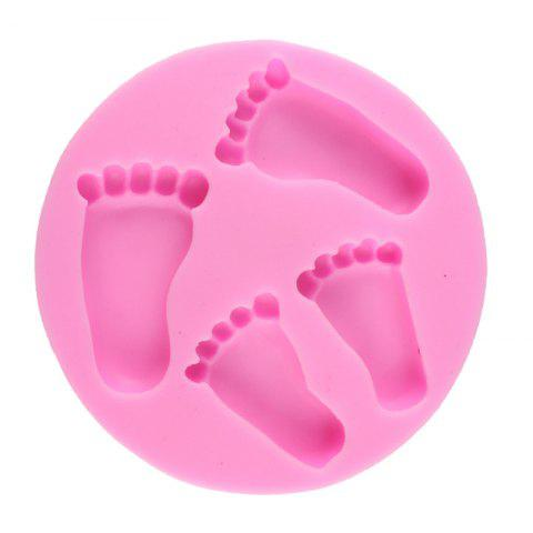 Small Shaped Silicone Fondant Chocolate Baking Tools - PINK