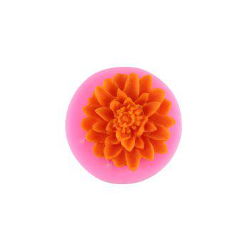 Chrysanthemum Silicone Chocolate Mold - PINK