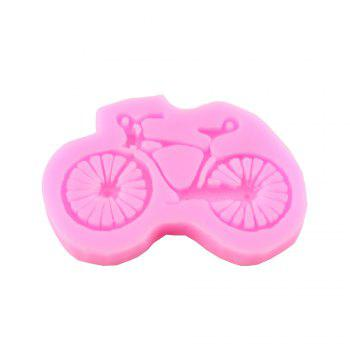 Bike Silicone Bicycle Cake Fondant Silicone Mold -  PINK