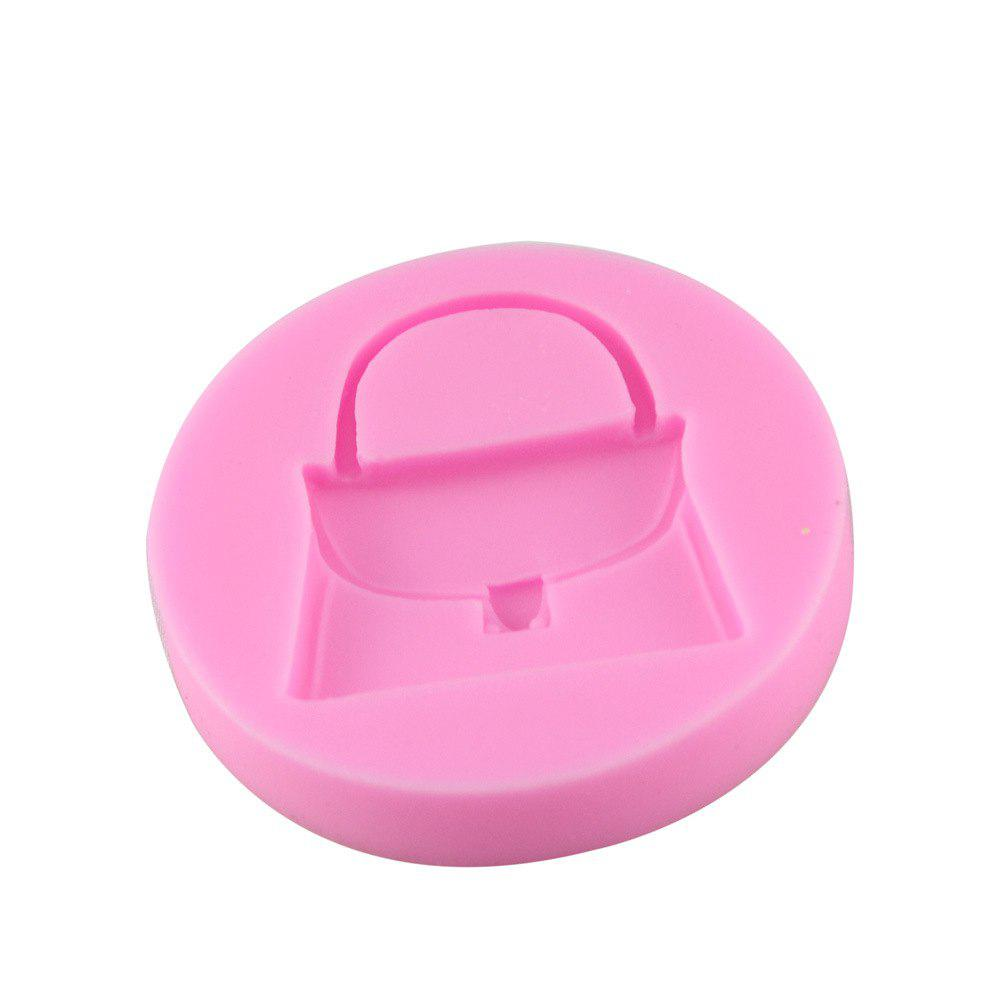 Food Grade Silicone Cake Decorated with Fondant Mold - PINK