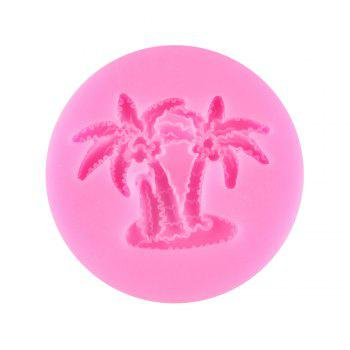 Tropical Coconut Tree Cake Baking Mold - PINK