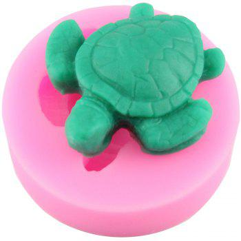 Tortoise Food Grade Silicone Fondant Mold - PINK
