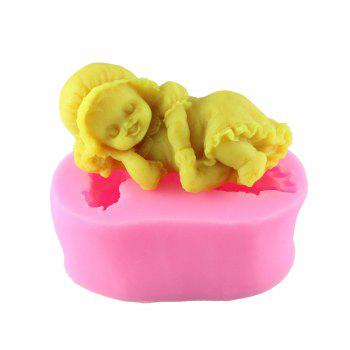 Angel Silicone Egg Cake Pressure Mold - PINK PINK