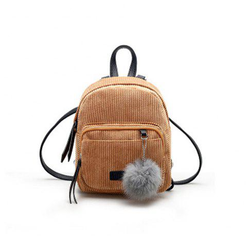 8768ba151c LIMITED OFFER  2019 Girl s Mini Backpack Fluffy Ball Pendant Solid ...