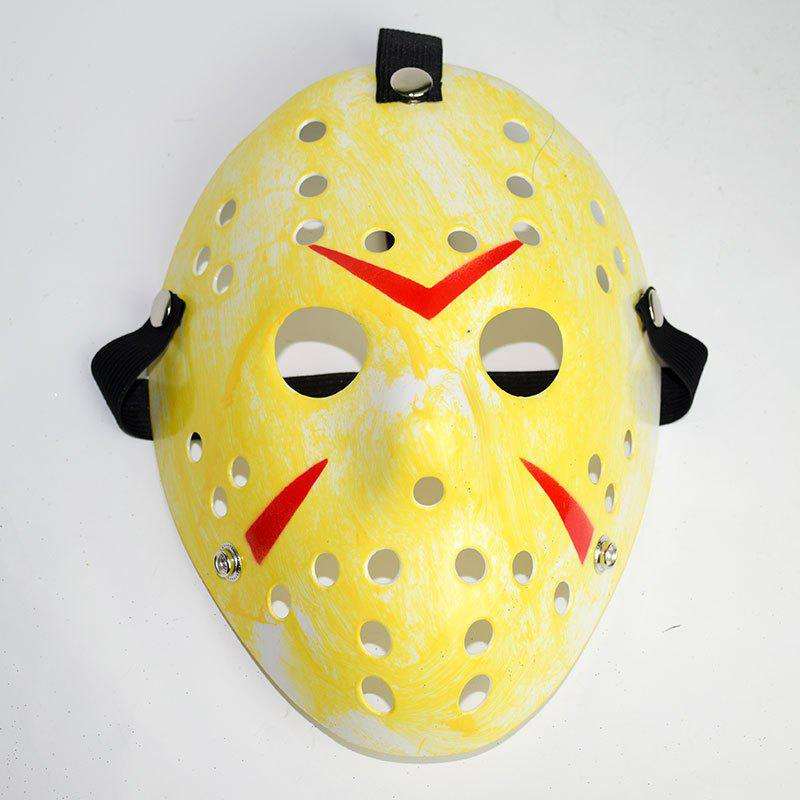 Halloween Masquerade Mask Horror Resin Christmas - YELLOW