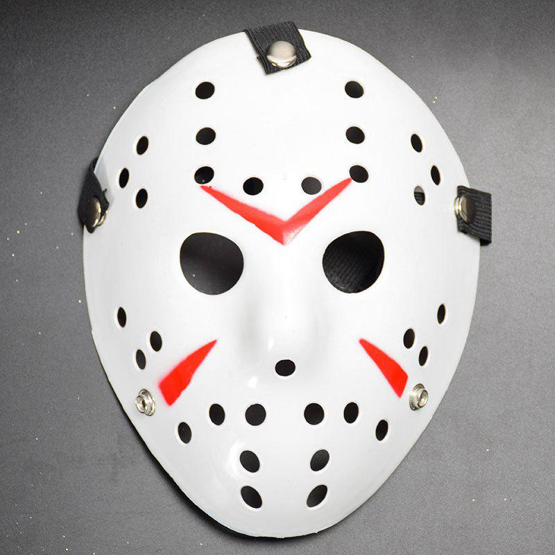 Halloween Masquerade Mask Horror Resin Christmas - WHITE