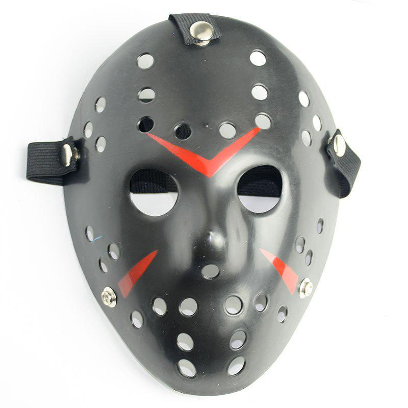 Halloween Masquerade Mask Horror Resin Christmas - BLACK