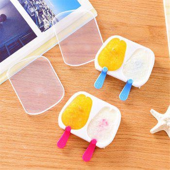 Super Good Quality Rabbit Popsicle Ice Cream Popsicle Mold Ice Box Kitchen Gadgets Snowman Ice Trays - RED