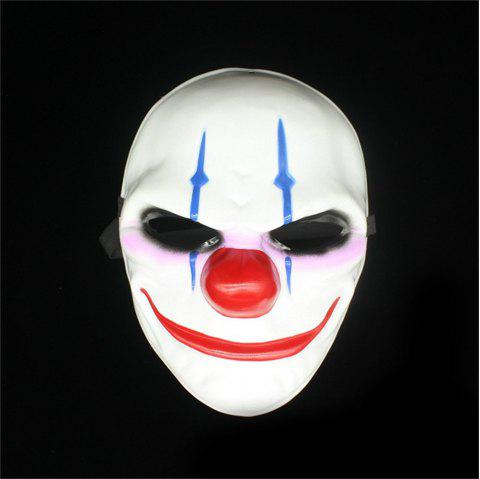 Halloween Horror Mask Newest Topic Game Series Plastic Masquerade Supplies - COLOUR
