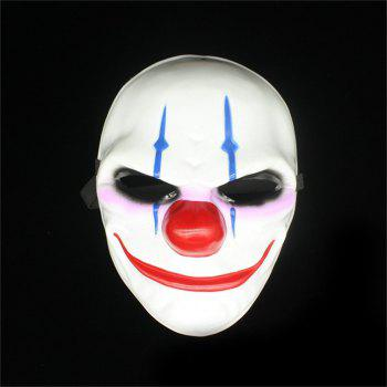 Halloween Horror Mask Newest Topic Game Series Plastic Masquerade Supplies - COLOUR COLOUR