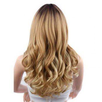 CHICSHE 26 inch Blonde Ombre Wig Synthetic Long Wavy Natural Hair -