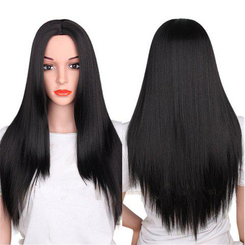 CHICSHE Synthetic Ombre Red Wigs Long Straight Cosplay Grey Hair Free Shipping - 6