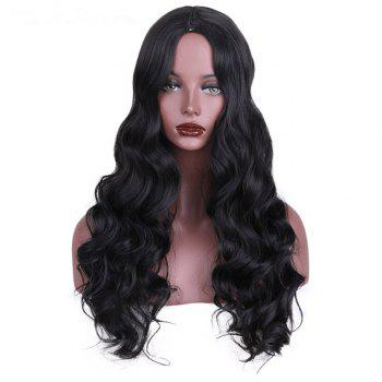 CHICSHE Synthetic Wig for Black Women Long Cosplay Wigs Wavy Hair with High Temperature - 1