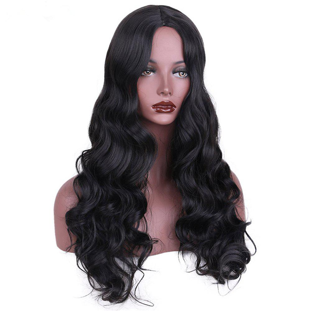 CHICSHE Synthetic Wig for Black Women Long Cosplay Wigs Wavy Hair with High Temperature -