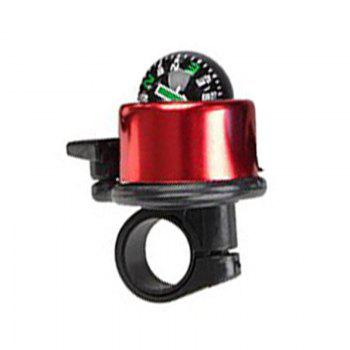 Mountain Bike Bell Bicycle Aluminum Alloy Horn - RED RED