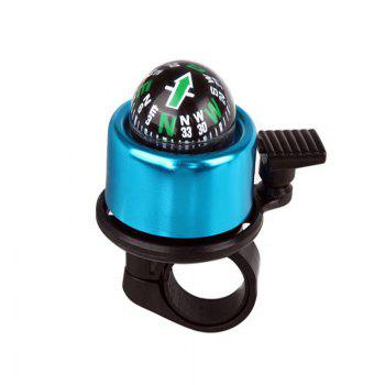 Mountain Bike Bell Bicycle Aluminum Alloy Horn - BLUE BLUE