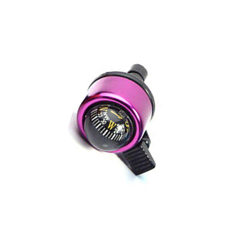Mountain Bike Bell Bicycle Aluminum Alloy Horn - PURPLE