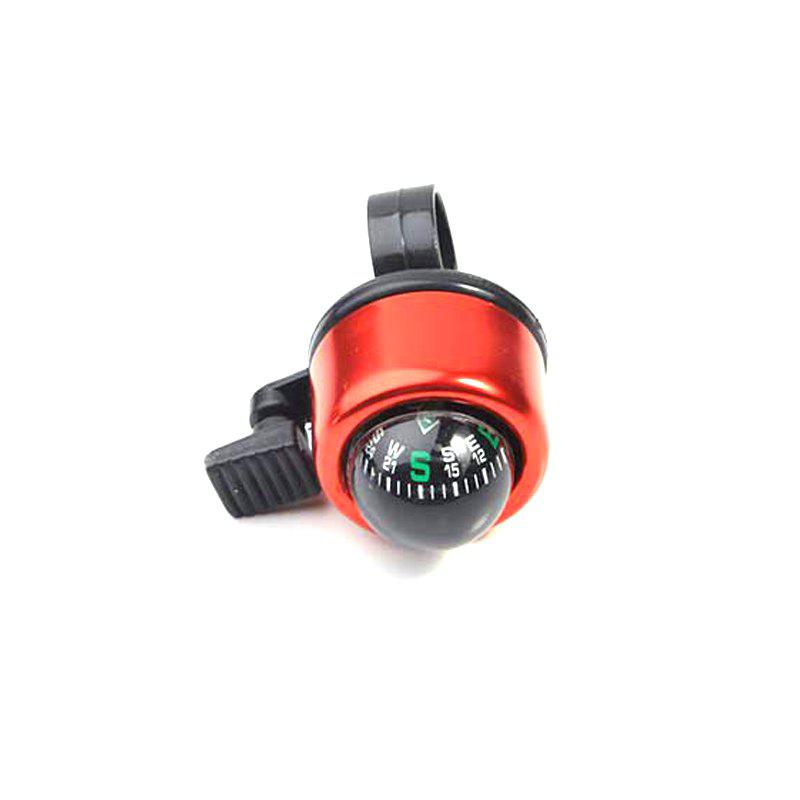 Mountain Bike Bell Bicycle Aluminum Alloy Horn - RED