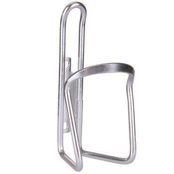 Aluminum Alloy Kettle Rack for Bicycle Mountain Bike - SILVER SILVER