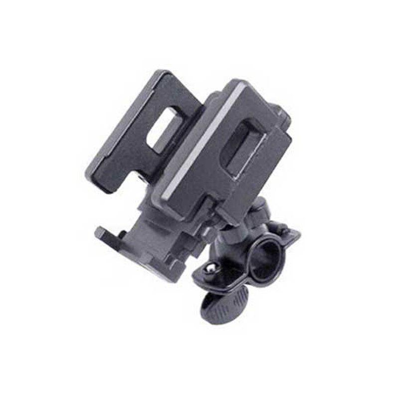 Bicycle Mobile Phone Bracket Mountain Bike Electric Vehicle Navigation Rack Riding Equipment Bicycle Accessories - BLACK