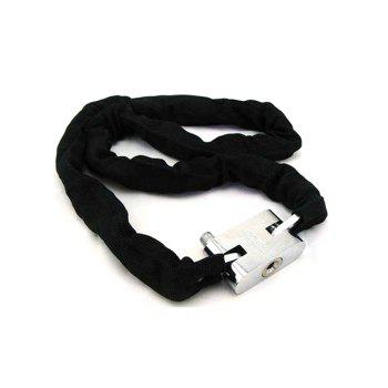 Chain Anti-theft Lock for Motorcycle - BLACK BLACK
